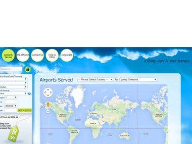 Flight & Hotel booking web application