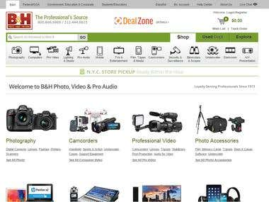 Shopping Cart for Photo professionals