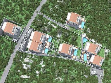 Luxury villas for Contesa of Montenegro