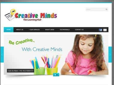 creative-minds.co.in | Website Design