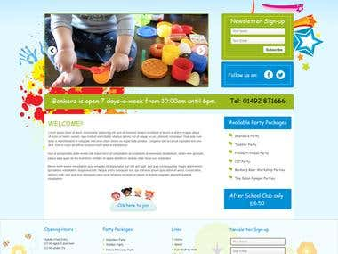 Children Website