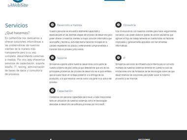 le-website official page