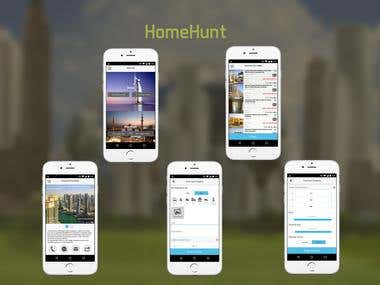 HomeHunt (iOS/Android)