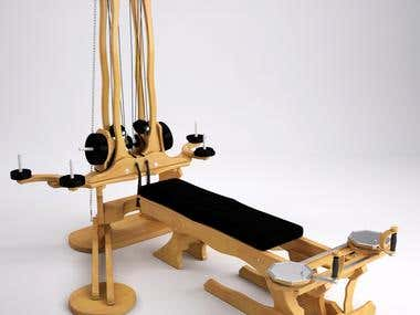 Gyrotonic Pulley tower