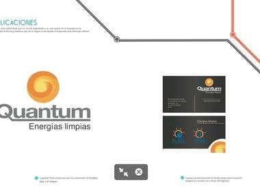 Logotype Quantum (energy renewable)