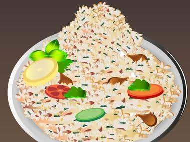 Food graphics