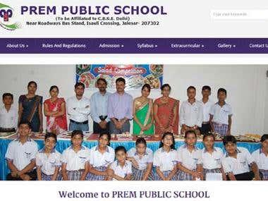 Prem Public School, Agra
