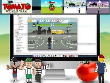 The TOMATO World War (Game)
