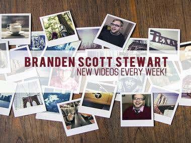 Youtube Channel Art for Branden Stewart