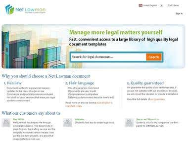 Qualaity Assurance of Netlawman Limited website
