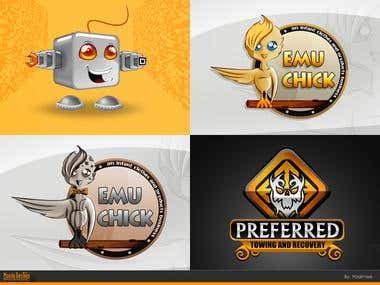 Illustrative logo Designs 1