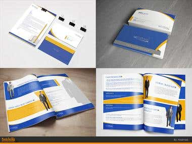 Corporate Identity - stationary - Branding 1