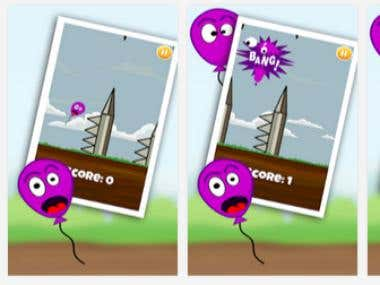 blowy baloon - games for kids