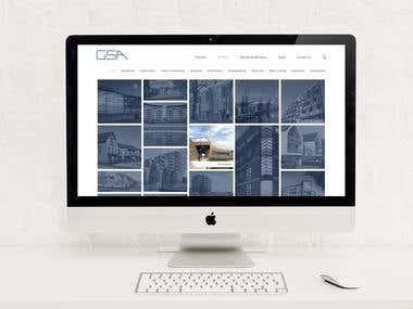 Gardner Steward Architects Rebranding and Web Design