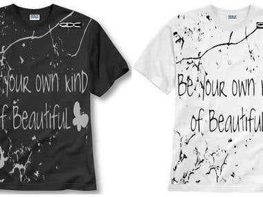 t-shirt design(winning designs)
