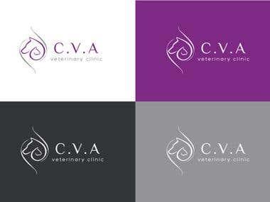 C.V.A Logo Design
