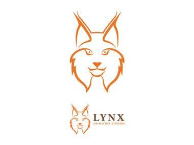 LYNX Animation Studios logo design