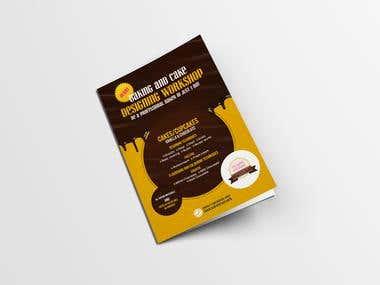 Chocolate Cake Bakery Flayer