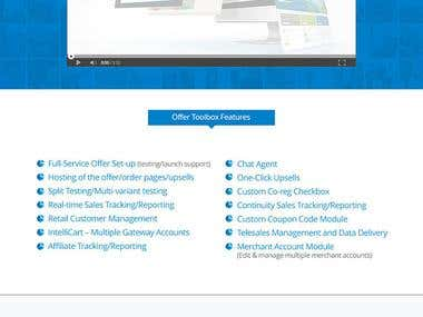 OfferToolbox Landing Page