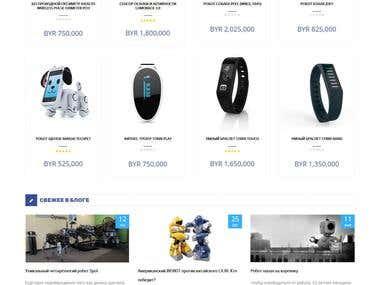 Online store Robocop