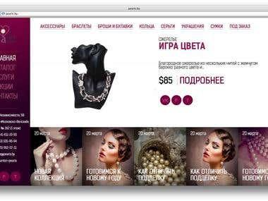 Pearls online store