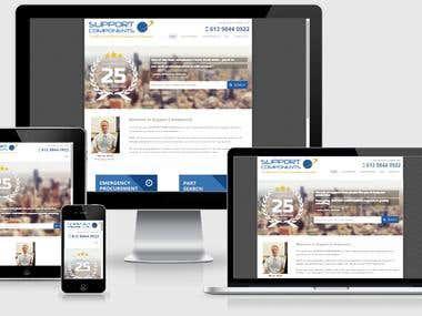 PSD to Responsive Wordpress site