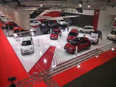Belgrade international auto show (FIAT Booth)