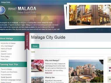 What Malaga Website