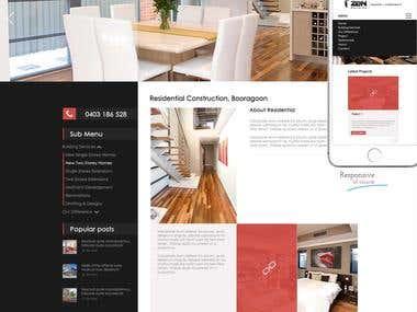 Design Zen Building website