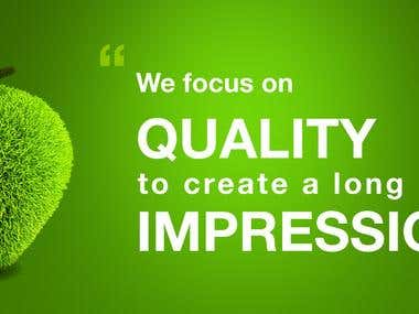 The Long Lasting Impression We Leave On You