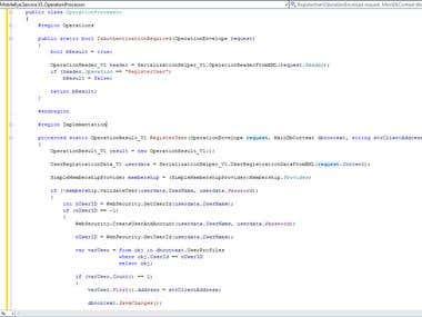 ASP.NET MVC Project