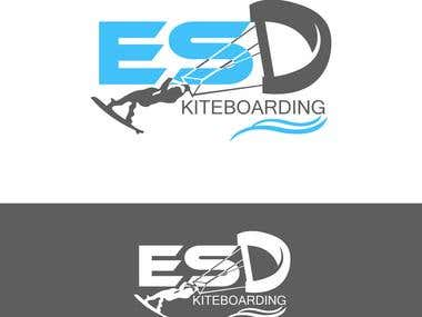 Logo for ESD Kite Boarding