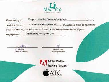 Certificate Photoshop CS6