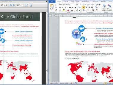 Microsoft Word Document Creation