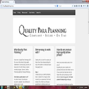 QualityParaPlanning