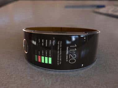 Apple Watch concept render (100% CGI)