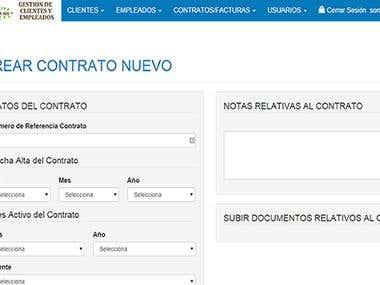 Egar 365 - Website and CRM Development
