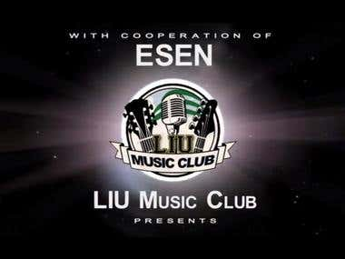 LIU Music Club under the theme of Violence against women.
