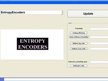 GUI Entropy Encoders