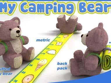 My camping bear