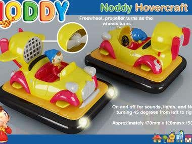 Noddy Hovercraft