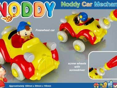 Noddy Toy Mechanic
