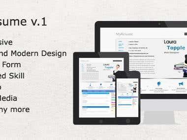 Myresume - HTML CV Templates
