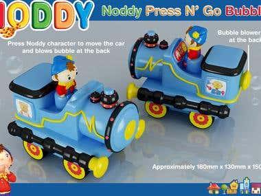 Noddy Press and Go Bubbles
