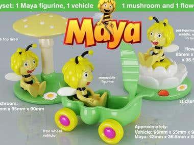 Maya Playset