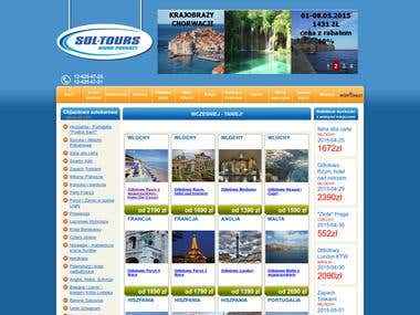 Tour operator\'s website