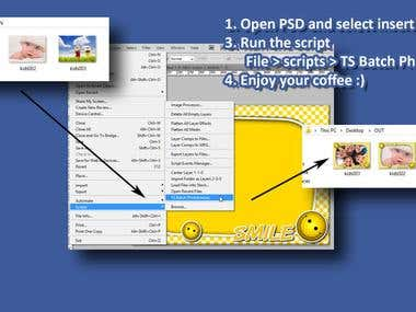Photoshop script to create PhotoFrames