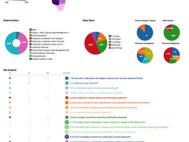 Interactive Web based Dashboard