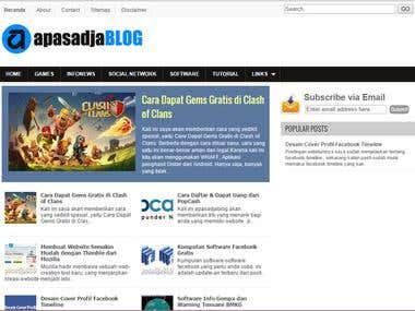 Blog & Website