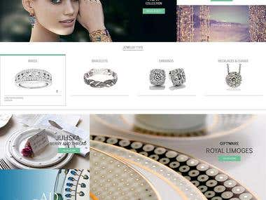 Luxery website
